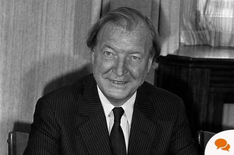 Charles Haughey in his brief term as Taoiseach in 1982, year of GUBU.