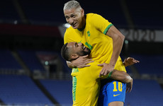 France thrashed by Mexico in Olympic opener as Richarlison-inspired Brazil beat Germany