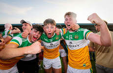 Offaly hold on to clinch historic Leinster U20 crown against three-in-row chasers Dublin
