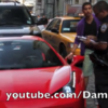 VIDEO: What happens if you run over a cop's foot in your Ferrari?