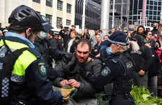 Thousands protest lockdown restrictions across Australia amid another surge in Covid-19 cases