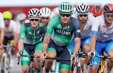 Irish challenge fades late on in road race as Richard Carapaz claims gold