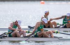 No medal race for Irish pair Byrne and Doyle as they finish last in semi-final