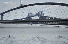 Olympic rowing schedule disrupted by incoming storm