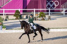 Four-time Irish Olympian Holstein and Sambuca produce spectacular dressage routine