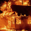 California homes destroyed as wildfires merge to pose new threat
