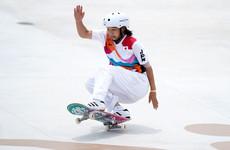 Momiji Nishiya wins first Olympic women's street skateboarding gold aged just 13