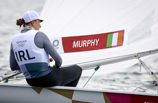 Annalise Murphy facing uphill battle after difficult day in Laser Radial sailing