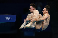 Britain's Daley remembers late father after Olympic diving gold