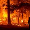 Winds stoke California's largest fire as blazes scorch US West