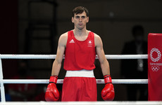 Belfast boxer Aidan Walsh dominates to advance to quarter-final in Tokyo
