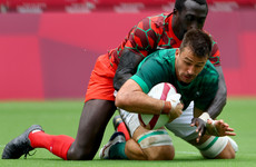 Agony for Ireland 7s as late Kenyan try ends their Olympic medal hopes