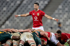 Conor Murray starts as Lions make three changes for second Test