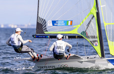 Dream Olympic start for Irish sailors Dickson and Waddilove with victory in first race
