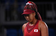 Osaka felt pressure was 'a bit much' after crashing out of home Olympics