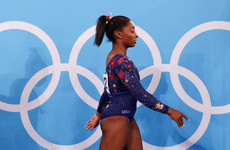 Tearful Simone Biles withdraws from gymnastics team event citing mental health reasons