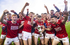 Cork survive tense finish to win high-scoring Munster U20 hurling final against Limerick