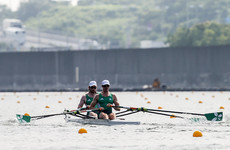 Tenth overall for Irish pair Doyle and Byrne after they finish fourth in B final