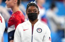 Simone Biles withdraws from individual all-around gymnastics event
