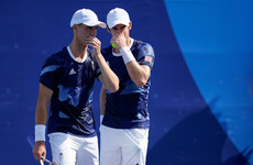 Andy Murray's bid for fourth Olympic medal ends in doubles defeat