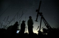 Meteors to rain down on Earth over coming week