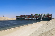Ever Given ship finally arrives in Rotterdam after Suez Canal block