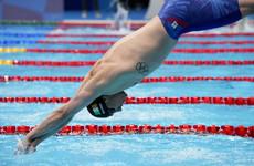 Shane Ryan sets new Irish record in 100m butterfly heats
