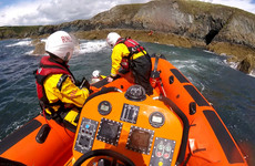 Three kayakers stranded on rocks on Waterford coast rescued by RNLI and Coast Guard helicopter