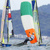 Irish sailing finish Race 12 in first place but just fall short of medal final spot