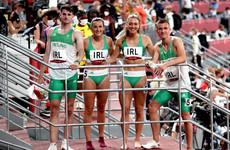 Irish 4x400m mixed relay team finish eighth in Olympic final