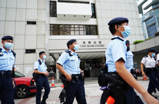 Hong Kong police arrest man for booing Chinese national anthem