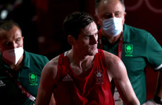 Aidan Walsh forced to withdraw from Olympic semi-final due to injury