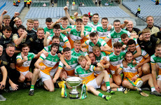 Offaly hit 0-41 in massive Christy Ring Cup final victory over Derry