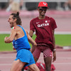 Barshim and Tamberi on a high in rare Olympic athletics share of gold