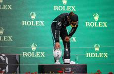 Hamilton reveals long Covid symptoms after taking championship lead