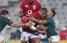 Lions prop Sinckler cited for biting during yesterday's defeat to the Boks
