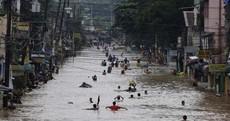 In photos: Torrential rains deluge Manila