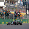 Vettel disqualified, Hamilton promoted, and frustrated Verstappen 'will never give up' in title race