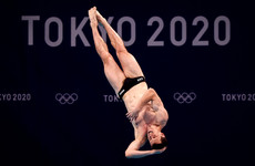 Irish diver Oliver Dingley bows out in Tokyo