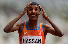 Sifan Hassan on course for unprecedented treble as she secures 5,000m gold