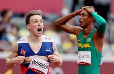 Warholm storms to world record in hurdles epic, Mihambo takes long jump gold