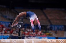 Simone Biles caps remarkable return with Olympic bronze in beam final