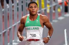 Ireland's Leon Reid finishes seventh in blistering 200m semi-final