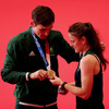 'I would cut this medal in half for my sister because I know she deserves it as much as I do'