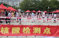 China mass testing shows Covid-19 cases at six-month high