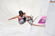 Sky Brown: 13-year-old skateboarder wins bronze to become GB's youngest Olympic medallist