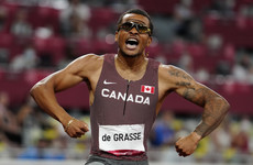 Canada's Andre De Grasse powers to 200m gold in Tokyo