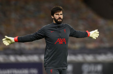 Alisson signs new long-term deal to stay at Liverpool until 2027