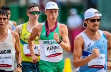 David Kenny seizes opportunity on Olympic debut in 20km race walk