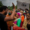 Protests following alleged rape and murder of nine-year-old girl in Indian capital